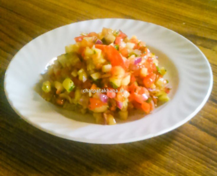 चटपटा सलाद - Chatpata Salad Recipe